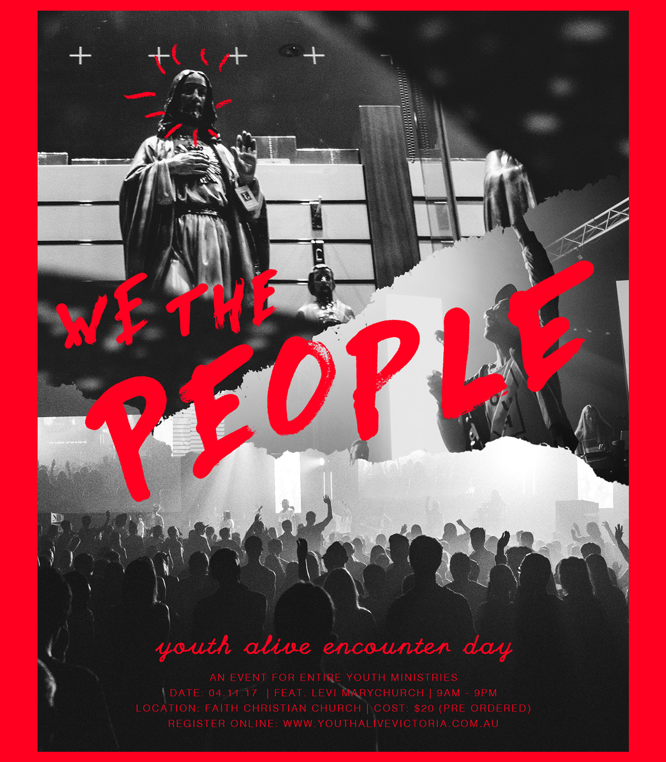 A6 We The People flyer